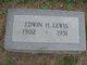 Edwin Houston Lewis, Jr