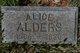 Profile photo:  Alice Alders