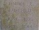 Jemima Ellen <I>Nations</I> Fairchild