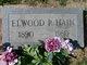 Elwood Parker Hain