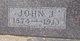 John Joseph Hyde