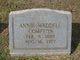 Annie Elizabeth <I>Waddell</I> Compton