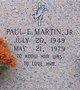Paul E. Martin, Jr