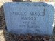 Profile photo:  Alice C <I>Arnold</I> Almond
