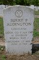Profile photo:  Surry P. Addington