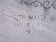 Ruth <I>Mayo</I> Fortner