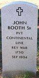 Profile photo:  John Booth Sr.