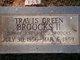 Profile photo:  Travis Green Broocks, II