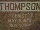 Christ Thompson