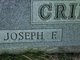 Joseph F Crider