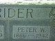 Peter Walter Crider