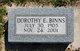 Profile photo:  Dorothy Ethel <I>Moore</I> Binns