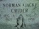 "Norman ""Jack"" Crider"