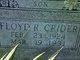 Floyd R Crider