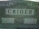 """Vernetta Bell """"Nettie"""" <I>Carter</I> Crider"""