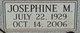 Profile photo:  Josephine M. <I>Van Ampting</I> Drueppel