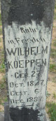 Profile photo:  Wilhelm Koeppen