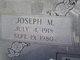 Joseph Milton Parker, Sr