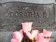 Doratha Frances <I>Gaiser</I> Marxen