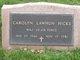 Profile photo: Maj Carolyn Sue <I>Lawhun</I> Hicks
