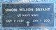 Simon Wilson Bryant