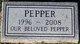 Profile photo:  Pepper