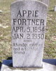 Appie <I>Whitfield</I> Fortner