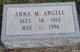 Profile photo:  Anna Marie <I>Hull</I> Angell
