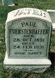 Paul Carl Fuerstenhaefer Sr.