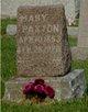 Mary Paxton