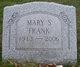 Mary S. <I>Washburn</I> Frank