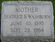Beatrice B. <I>Moser</I> Washburn