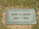 Edith B Adams