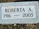 Profile photo:  Roberta A. Annarino