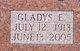 Profile photo:  Gladys <I>Toelke</I> Andrews