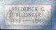 Profile photo:  Fredrick G. Bellinger