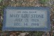 Mary Lou <I>Simmons</I> Stone