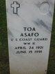 Profile photo:  Toa Asafo