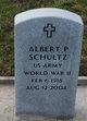 Profile photo:  Albert P Schultz