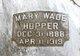 Mary <I>Wade</I> Hopper