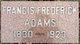 Francis Frederick Adams