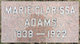 Marie Clarissa <I>Spoor</I> Adams