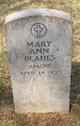 Mary Ann Beahes