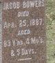 Profile photo:  Jacob Bowers