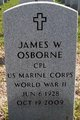 James W Osborne