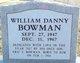 William Bowman