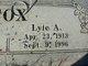 Lyle Albert Cox
