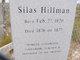 Silas Hillman
