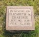 Elizabeth Ann <I>Siverly</I> Crabtree