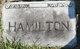 Profile photo:  Hamilton